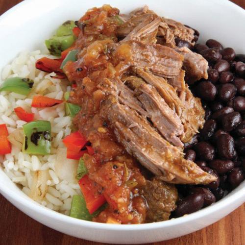 Latin Beef Bowl
