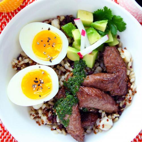 Churrasco Steak Breakfast Bowl